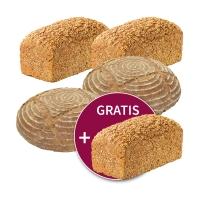 5 für 4 = 1 gratis: Steinmühlen-Brote nach Wahl