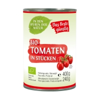 Tomaten in Stücken