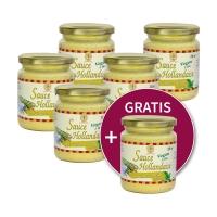 6 für 5 = 1 gratis: Sauce Hollandaise