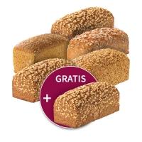 6 für 5 = 1 gratis: Steinmühlen-Brote nach Wahl