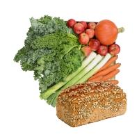 Die kleine Gemischte mit Brot