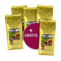 5 für 4 = 1 gratis: Kaffee aus Ruanda, gemahlen